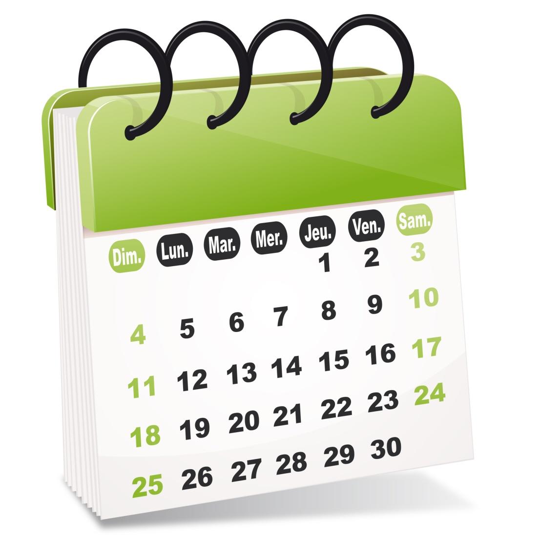 Le calendrier des actions enbibliothèques
