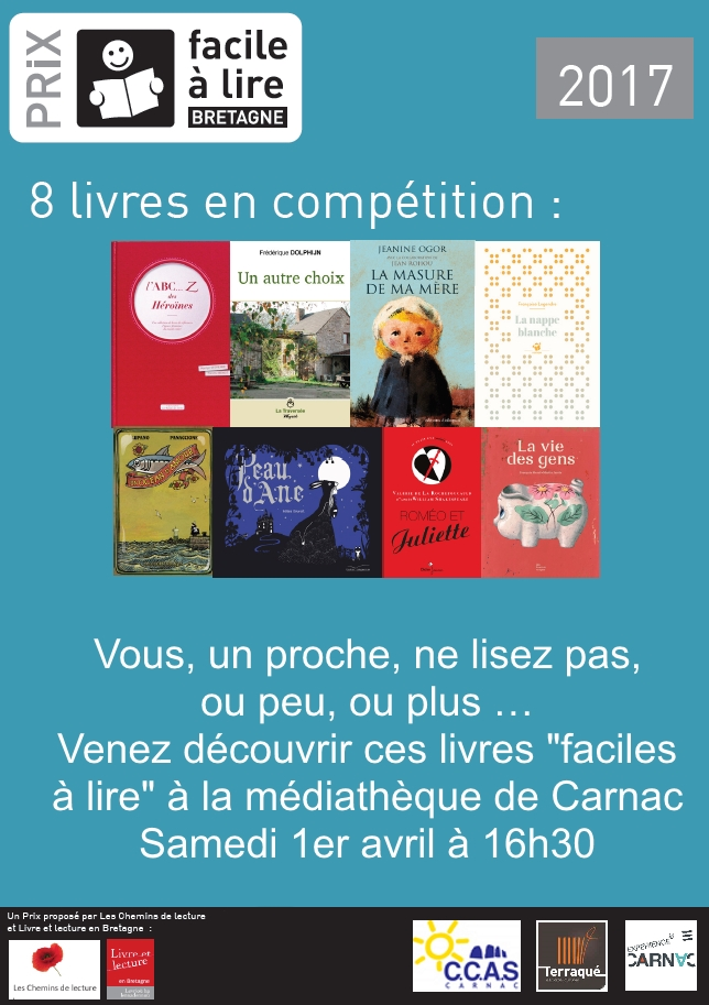 Le 1er avril, la médiathèque de Carnac lance le Prix!