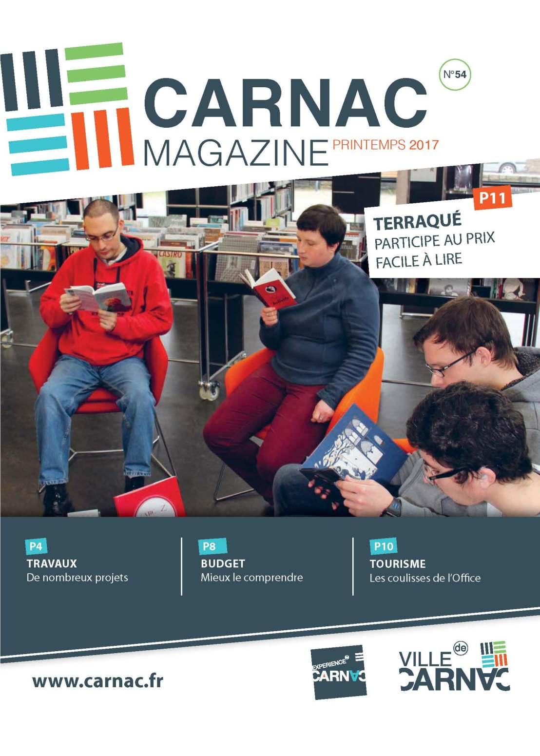 A Carnac, le Prix «Facile à lire Bretagne» fait la Une!