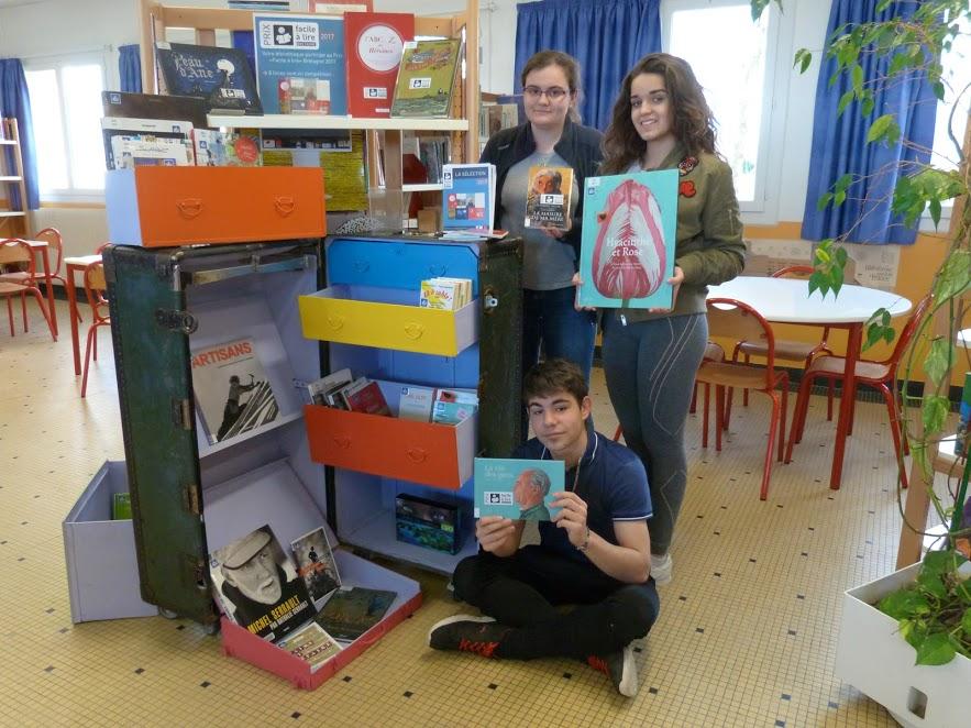 La malle «Facile à lire» voyage à Lesneven!