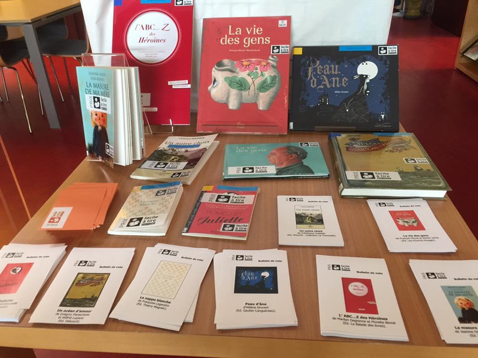 A Betton, on vote pour le «Prix lecteurs» Facile à lire Bretagne 2017!