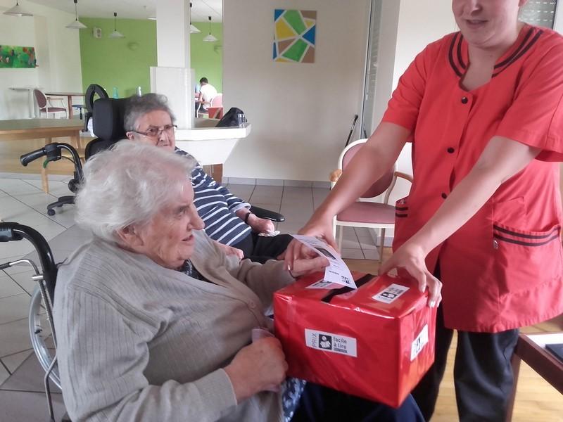 Retour sur le vote à la maison d'accueil Angélique Lesourd à Saint-Jacut-les-Pins