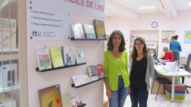 Un nouvel espace «Facile à lire» àChâteaubourg
