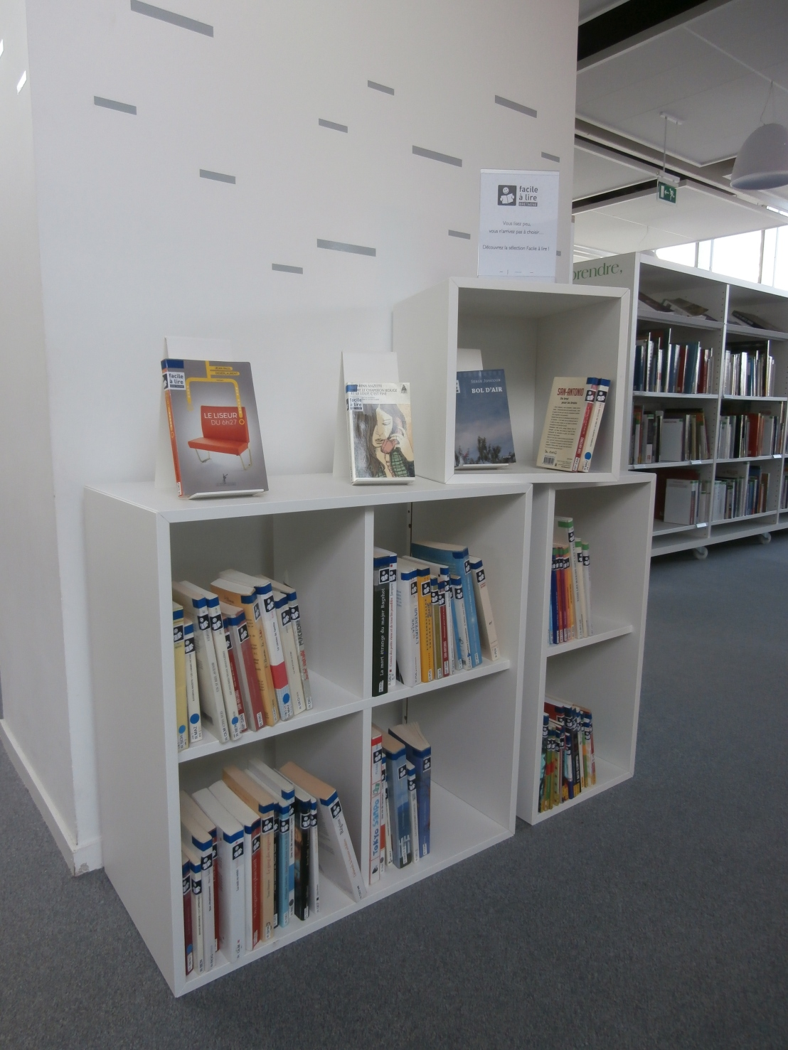 Nouvel espace «Facile à lire» auRelecq-Kerhuon