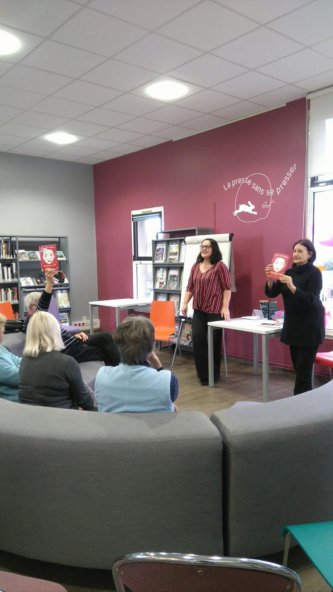Première rencontre à Auray avec la traductrice HélèneMorita