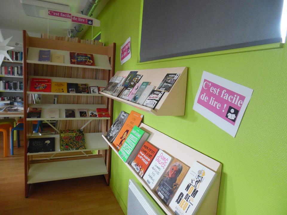 Un nouvel espace «Facile à lire» à La-Chapelle-de-Brain
